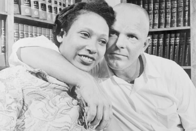 Mildred and Richard Loving.