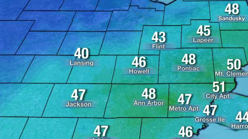 Metro Detroit weather: Cool with brighter weather ahead Sunday