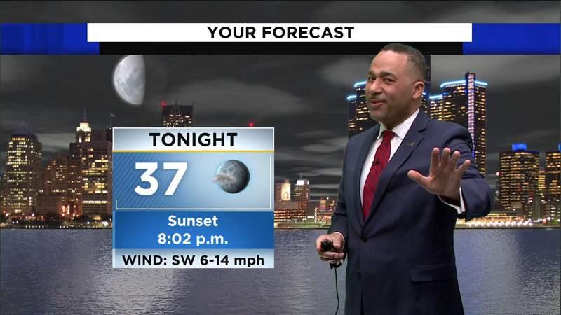 Metro Detroit weather: Mild to cool Saturday evening, April 3, 2021, 7 p.m. update