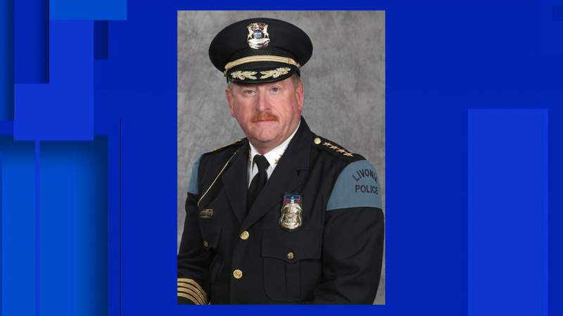 Livonia Police Chief Curtis Caid