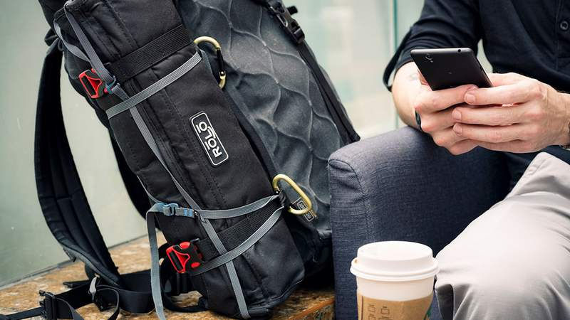 The Rolo Travel Bag is the perfect weekender bag.