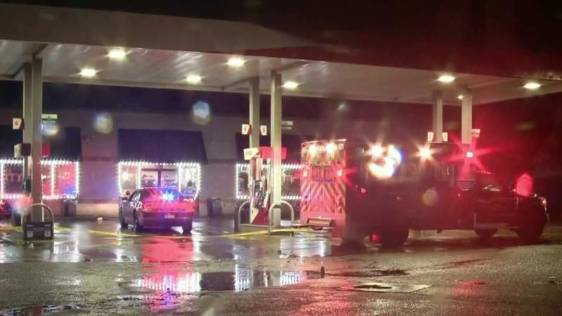 Man shot, killed at gas station in Detroit on Oct. 31, 2019.