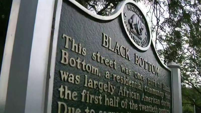 Detroit Unveils Historical Marker Paying Tribute to City's Black Bottom Neighborhood
