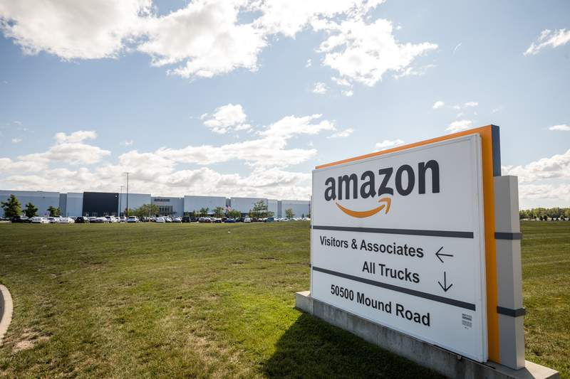 Amazon Fulfillment Center (DET2) in Shelby Township, Mich.