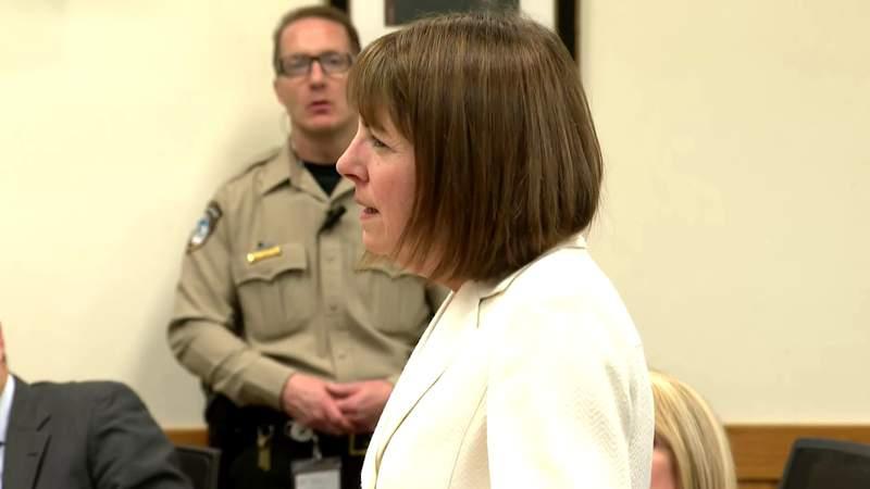 Former Livingston County Judge Theresa Brennan delivers emotional statement at sentencing