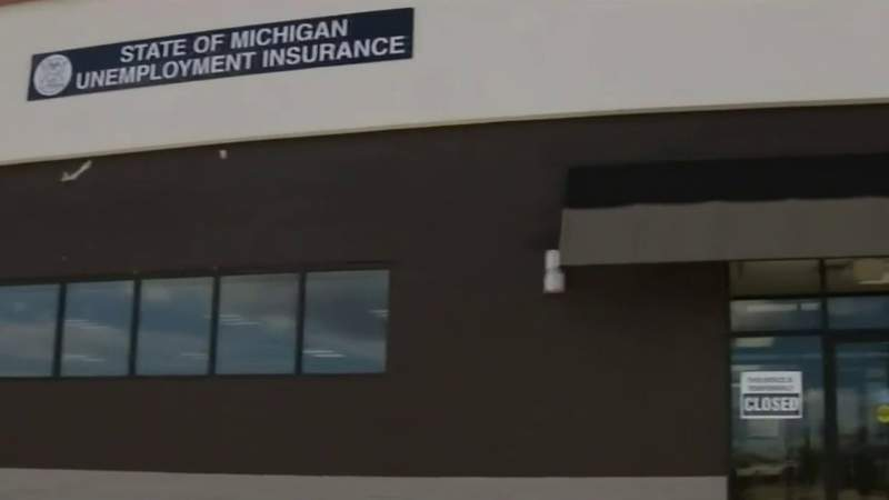 A Michigan unemployment office.