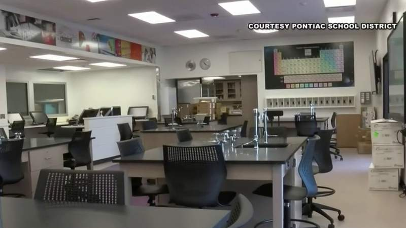 Pontiac school district prepares for return to in-person learning amid pandemic
