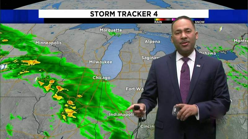 Metro Detroit weather: Becoming cloudy, chilly Saturday evening, May 8, 2021, 7 p.m. update