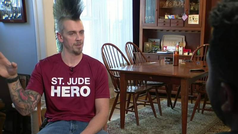 Man to walk across Michigan to raise money for St. Jude Children's Hospital