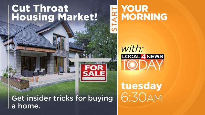 Cut throat housing market/Local 4 News Today