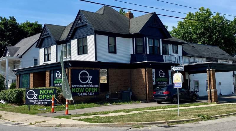Oz Cannabis store in Ypsilanti, Michigan.