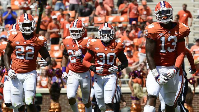 Clemson Football Vs Wake Forest Time Tv Schedule Game