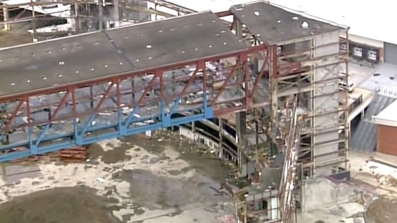 Video shows Joe Louis Arena demolition stage on Jan. 15, 2020