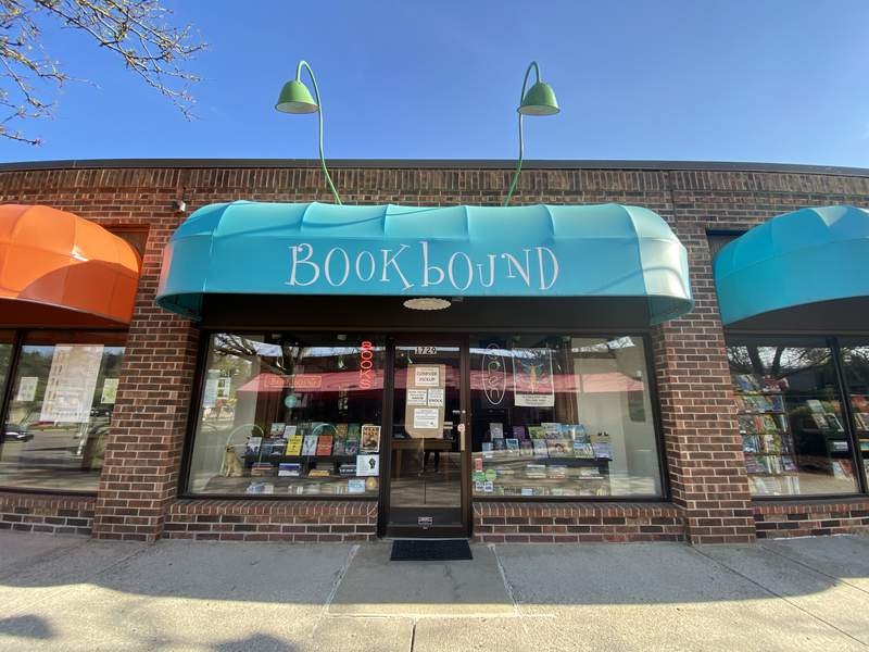 Bookbound is located inside The Courtyard Shops on Ann Arbor's northside.
