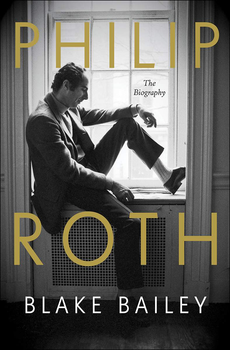 """This cover image released by W.W. Norton shows """"Philip Roth: The Biography,"""" by Blake Bailey. (W.W. Norton via AP)"""
