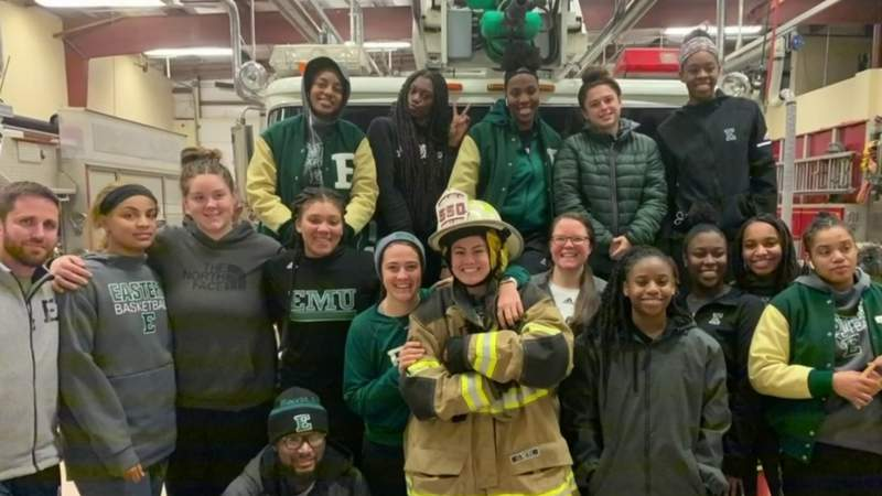 Eastern Michigan women's basketball team gets stranded in Pennsylvania for hours