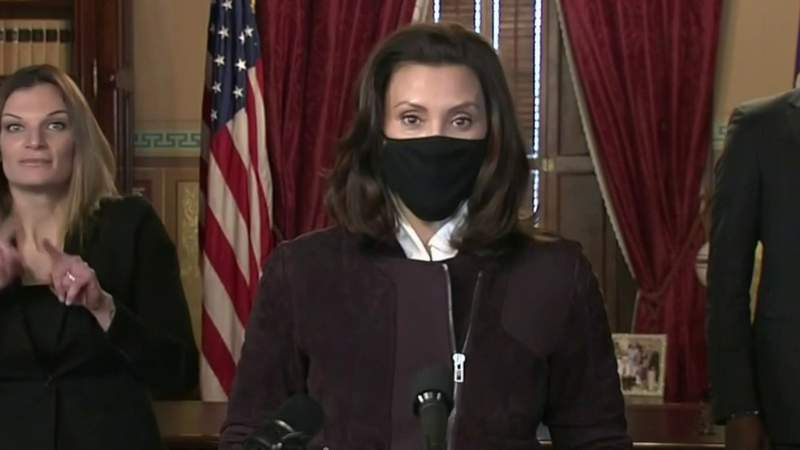 Gov. Whitmer: 'Don't travel for the holidays'; No word on extension of 3-week pause