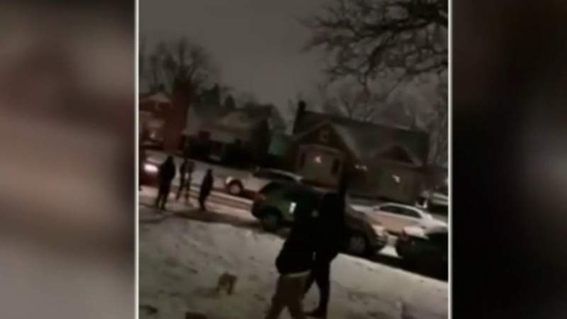 Barrage of New Year's Eve gunfire captured in viral video