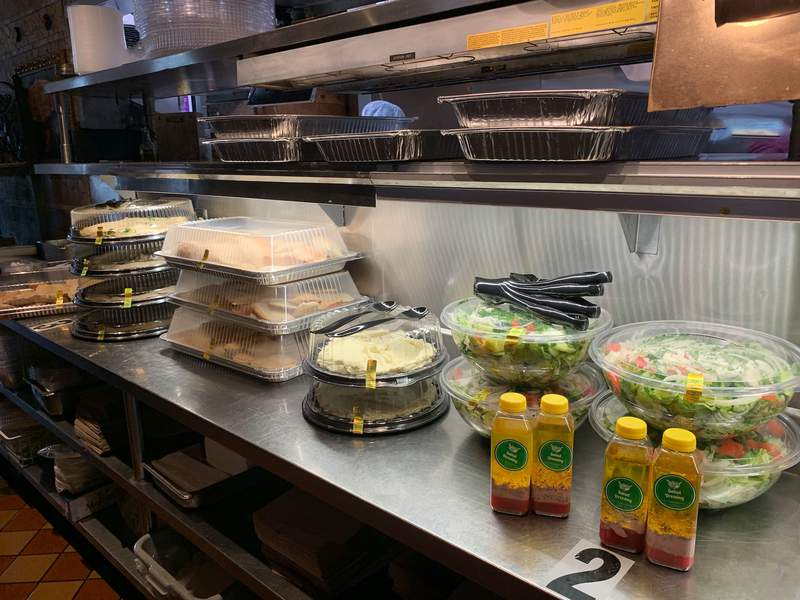 Palm Palace in Ann Arbor has been delivering meals to frontline workers at St. Joe's hospital during the COVID-19 pandemic.