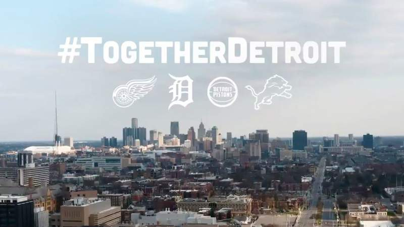 The Detroit Tigers posted a video dedicated to frontline workers.