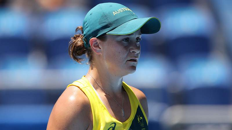 World No. 1 Ashleigh Barty, fresh off of winning Wimbledon, was bounced from the Tokyo Olympics in the first round.