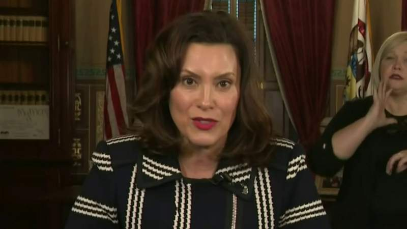 New poll shows strong support for Michigan Gov. Whitmer's handling of COVID-19 pandemic