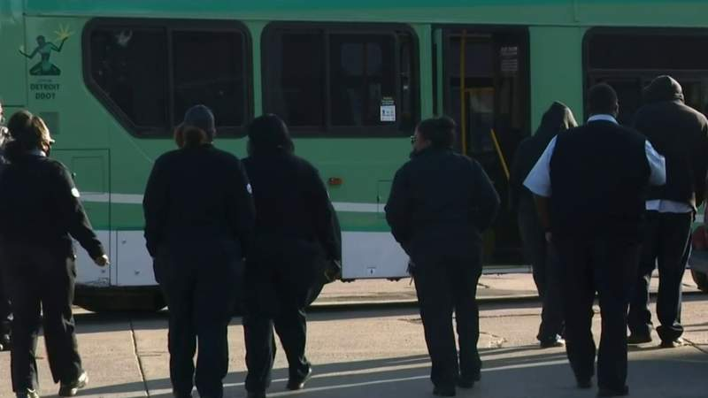 DDOT drivers stage work stoppage over concerns about COVID-19, violence