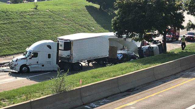 Michigan State Police investigating a serious crash that occurred Sep. 21, 2019. (WDIV)