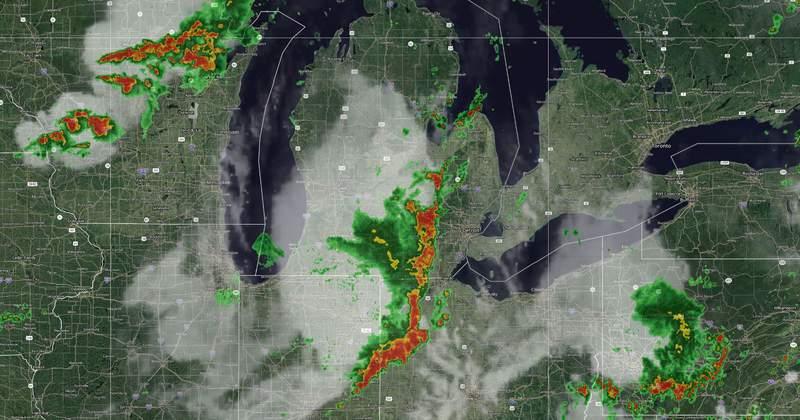 Michigan Weather Radar 3:35 p.m. Aug. 11, 2021