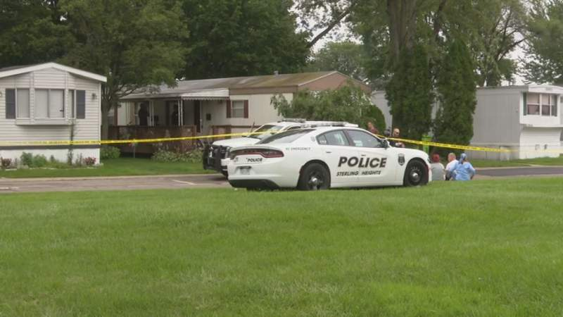 Police said a woman was found dead July 24, 2021, at a home on Charlemagne Avenue in Sterling Heights.