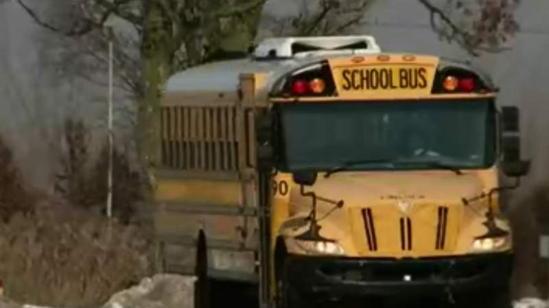 A teen was arrested in connection with an attack on a bus headed to a Ypsilanti Township school.