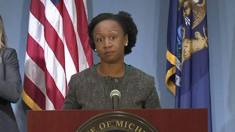 Dr. Joneigh Khaldun, of the Michigan Department of Health and Human Services, at the state's Sept. 10, 2020, coronavirus (COVID-19) press briefing.
