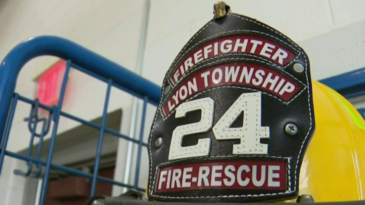Lyon Township hires first four full-time firefighters, two...