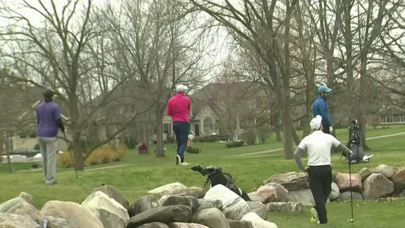 Back in business: Golfing, boating allowed again in Michigan