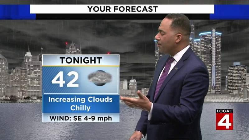 Metro Detroit weather forecast: 5/8/21