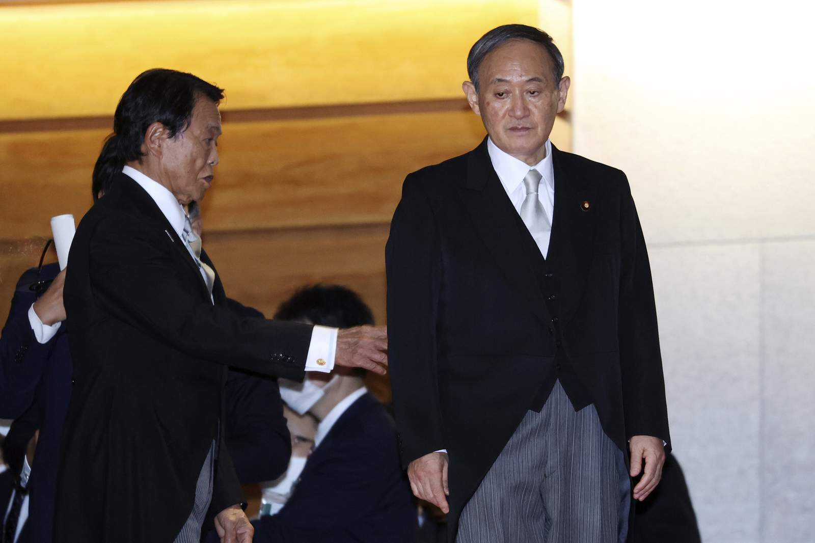 Japan`s newly minted prime minister steps into UN...