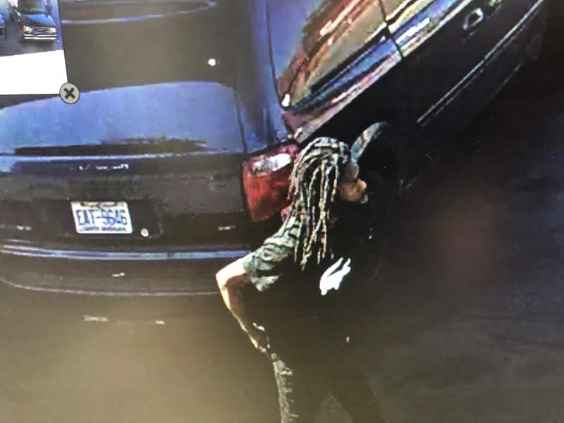 Detroit police released this photo of the man wanted for the gas station robbery.