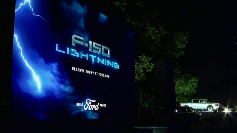 'A showcase of what's to come': Ford unveils electric F-150 Lightning