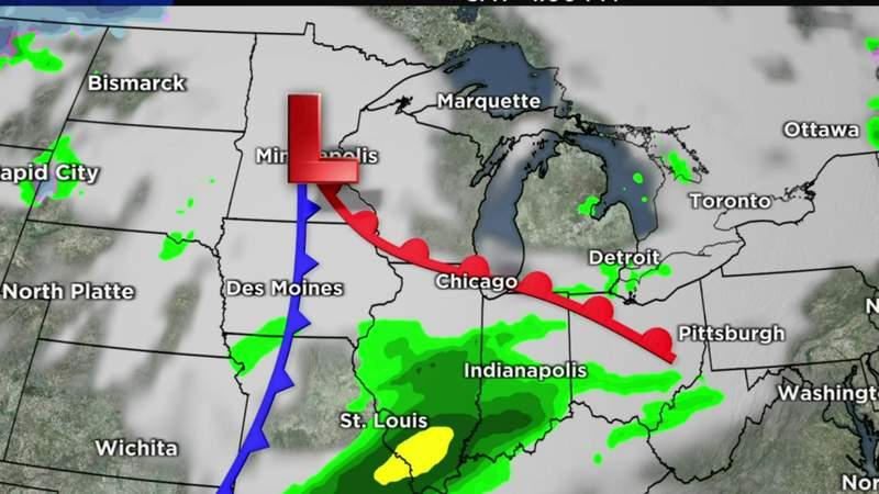 Metro Detroit weather forecast Nov. 11, 2020 -- 4 p.m. Update