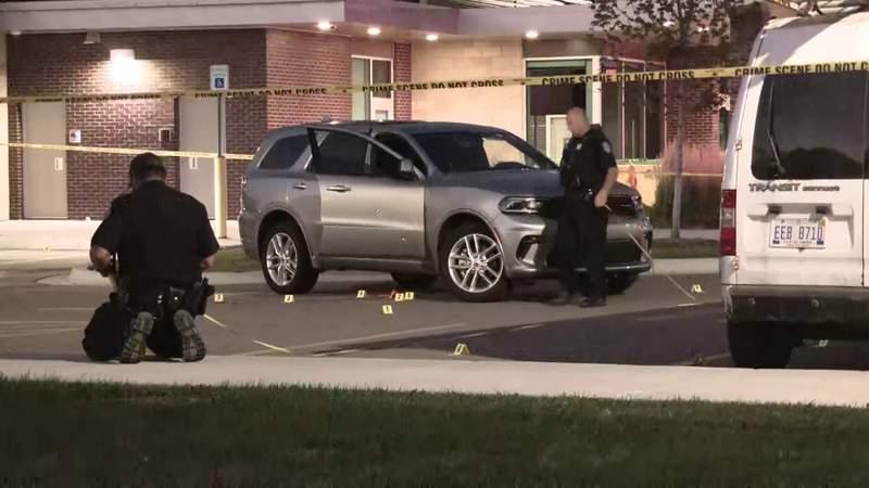 Man shot in the face during child custody exchange in Warren police station parking lot