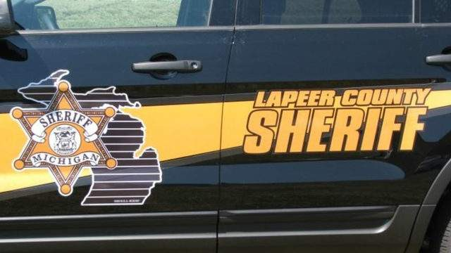 A Lapeer County Sheriff's Office vehicle. (WDIV)