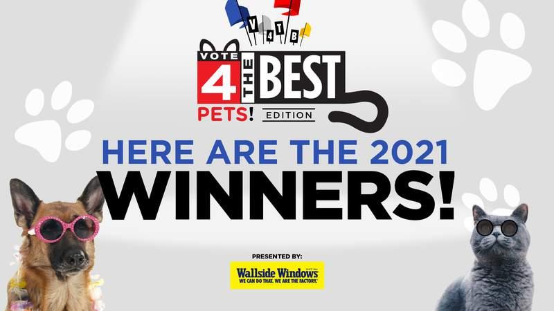 Vote 4 The Best Pets 2021 Winners!