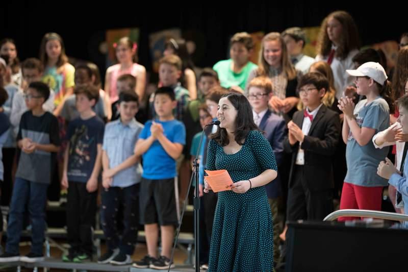 Thurston Elementary School music teacher Yael Rothfeld. Photo courtesy of Yael Rothfeld.