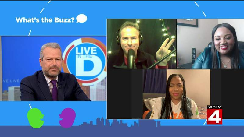 What's The Buzz gadgets on Live in the D