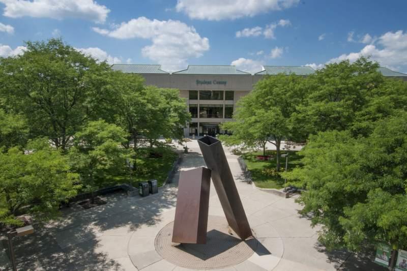Washtenaw Community College campus in Ann Arbor.