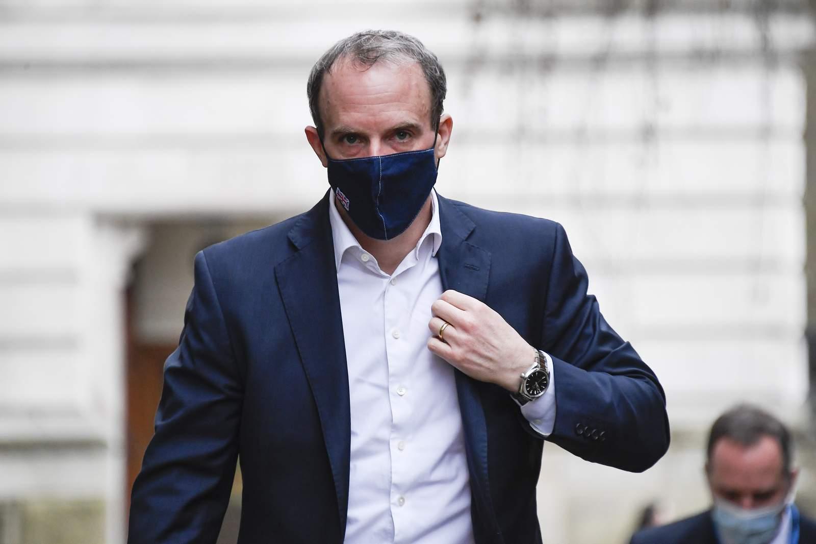 Top diplomats of US, UK, France, Germany hold virtual talks