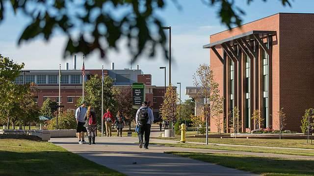 Northern Michigan University -- Credit: Kpotes, Wikimedia
