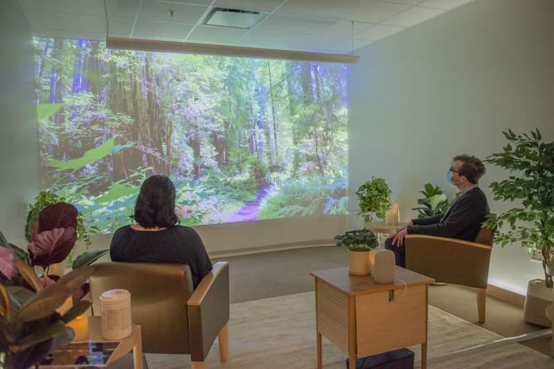 Recharge room at Med Inn in Ann Arbor.