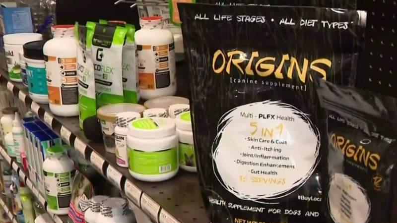 Helping your pets with skin, hip, joint and digestive issues