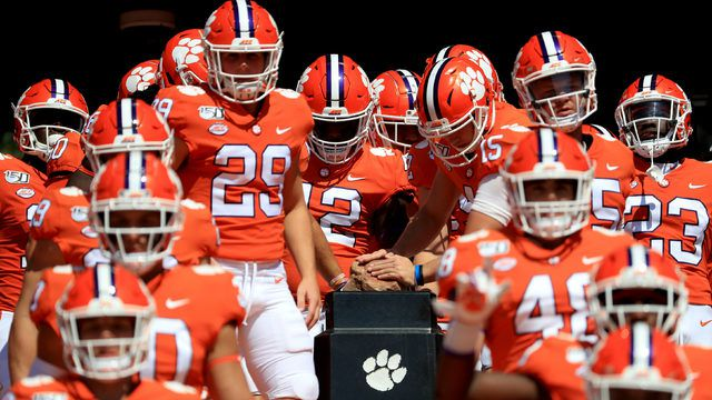 Clemson Football Vs Wofford Time Tv Schedule Game